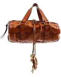 Chloé Camel Leather Handbag - Brown