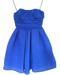 Carven Mini Dress - Blue