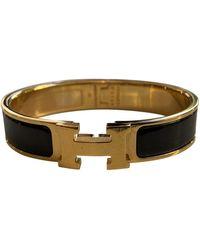 Hermès Clic H Armbänder - Schwarz