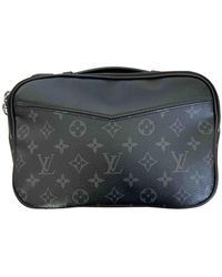 Louis Vuitton Piccola pelletteria in Tela - Nero