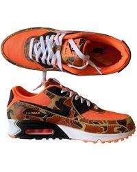 Nike 'Air Max 90' Sneakers - Orange