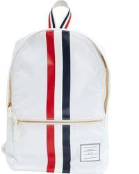 Thom Browne \N White Cloth Backpacks -White
