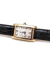 Cartier Tank Américaine Gelbgold Uhren - Mettallic
