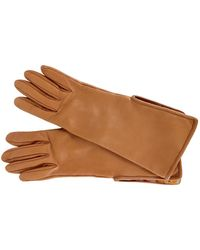 Hermès Camel Leather Gloves - Multicolour