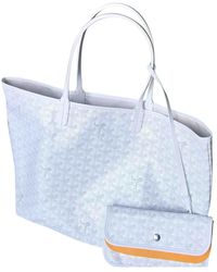 Goyard Saint-louis Cloth Handbag - White