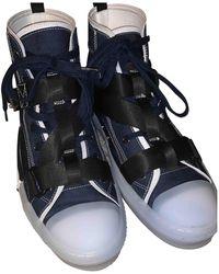 Dior B23 Cloth High Sneakers - Multicolor