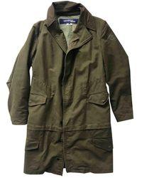 Junya Watanabe Khaki Cotton Coat - Green