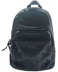 Marc By Marc Jacobs Too Hot To Handle Leather Backpack - Black