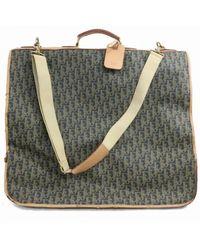 Dior Leinen Reisetaschen - Mehrfarbig