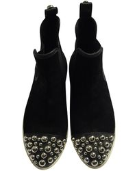 Marc By Marc Jacobs - Black Suede Ankle Boots - Lyst