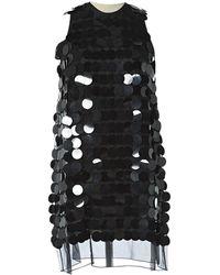Christopher Kane Black Silk Dress