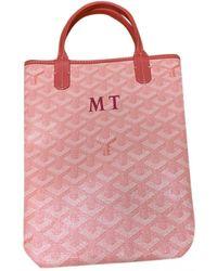 Goyard Cloth Handbag - Pink