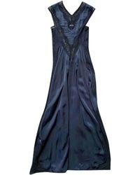 Céline Black Viscose Dress