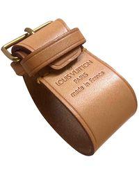 Louis Vuitton Leather Purse - Natural