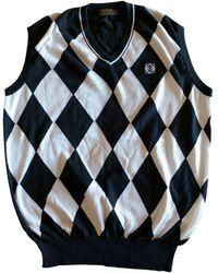 Loewe Blue Cotton Knitwear & Sweatshirt