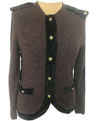 Chloé Wool Cardi Coat - Brown
