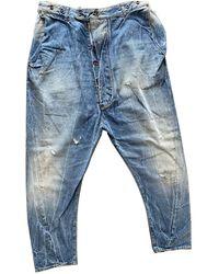 Vivienne Westwood Jeans Baumwolle Blau
