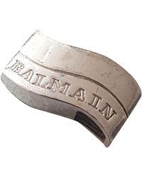 Balmain Silver Pendant - Metallic