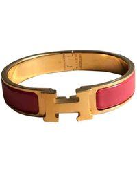 Hermès Clic H Armbänder - Pink