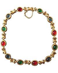 Carven Necklace - Metallic