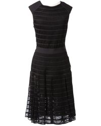 Maison Rabih Kayrouz - Black Wool Dress - Lyst