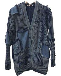 Stella McCartney Jersey en algodón azul