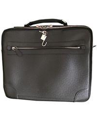 Louis Vuitton Leder Business tasche - Schwarz