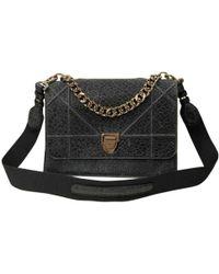 39bd367369b5 Dior Pre-owned Ama Leather Handbag in Purple - Lyst
