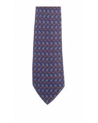 Hermès Seide Krawatten - Blau