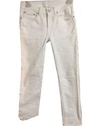 Acne Studios Gerade jeans - Weiß
