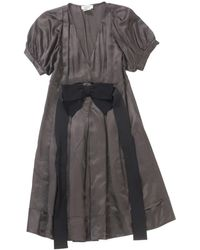 Sonia by Sonia Rykiel Brown Viscose Dress