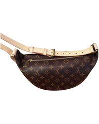 Louis Vuitton Pochette Bum Bag / Sac Ceinture en Toile Marron