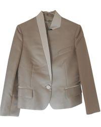 Stella McCartney - Grey Polyester Jacket - Lyst