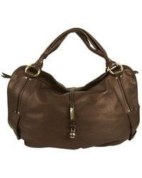 Céline - Brown Leather Handbag - Lyst