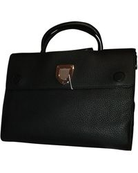 Dior Borsa a mano in pelle nero ever