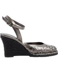 Bottega Veneta - Pre-owned Leather Heels - Lyst