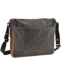 Louis Vuitton Khaki Cloth Bag - Multicolor