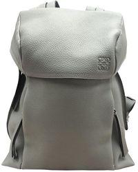 Loewe Rucksack Leder Taschen - Grau