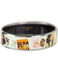 Hermès Bracelet Email Armbänder - Grün