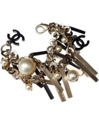 Chanel - Pre-owned Other Metal Bracelets - Lyst