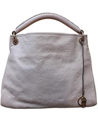 Louis Vuitton Artsy Leather Handbag - White
