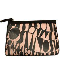 Missoni Leather Clutch Bag - Pink