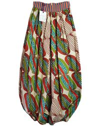 Stella Jean Maxi Skirt - Multicolour