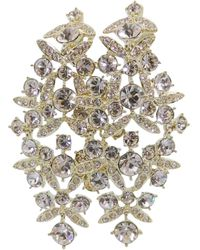Givenchy Kristall Ohrringe - Mehrfarbig