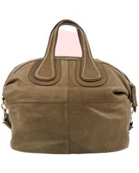 089f82defa Givenchy Taupe Nightingale Medium Bag in Brown - Lyst