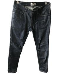 Acne Studios Jeans in cotone - elastan marina - Multicolore