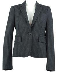 JOSEPH - Pre-owned Grey Wool Jackets - Lyst
