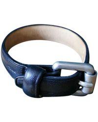 Longchamp Leather Bracelet - Blue