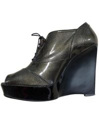 Marni - Patent Leather Ankle Boots - Lyst