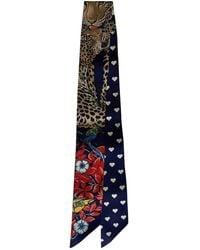 Hermès Twilly 86 Silk Choker - Blue